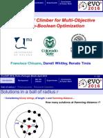 Efficient Hill Climber for Multi-Objective Pseudo-Boolean Optimization