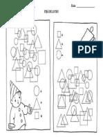 Figuri Geometrice -Fisa de Lucru