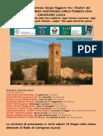Premio Piaggia 2016 - Finalisti