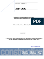 Benefit Performance-based Standards in Support Objective-based Codes Nrcc47357