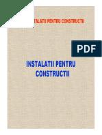 Instalatii Pentru Constructii-curs