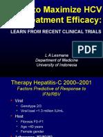 Hepatitis c How to Maximize