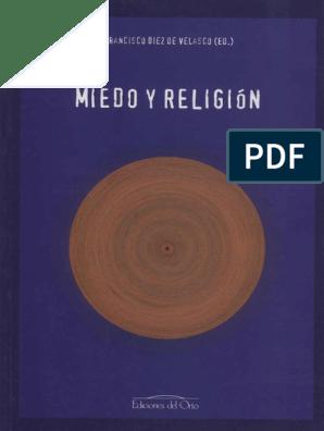Miedo Y Religion Homo Sapiens Temor