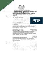 Jobswire.com Resume of mklar3