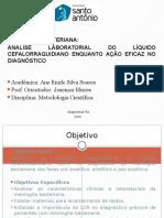 Analise do Liquor - Meningite Bacteriana