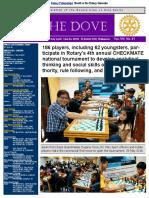 RC Holy Spirit THE DOVE Vol. VIII No. 41 June 8, 2016 D3780 Awards List Edited