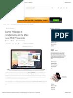 Como mejorar el rendimiento de tu Mac con OS X Yosemite - iDAMovil.pdf