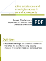Psychoactive Substance Abuse in Children and Youth