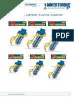 Manual de Utilizare Trencher MT900