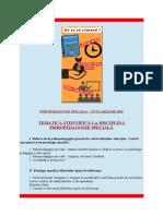 Titularizare Psihopedagogie Speciala - 2016