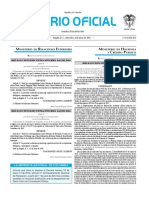 Diario oficial de Colombia n° 49.898. 08 de junio de 2016