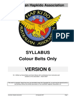 AHA Syllabus for Colour Belts V6