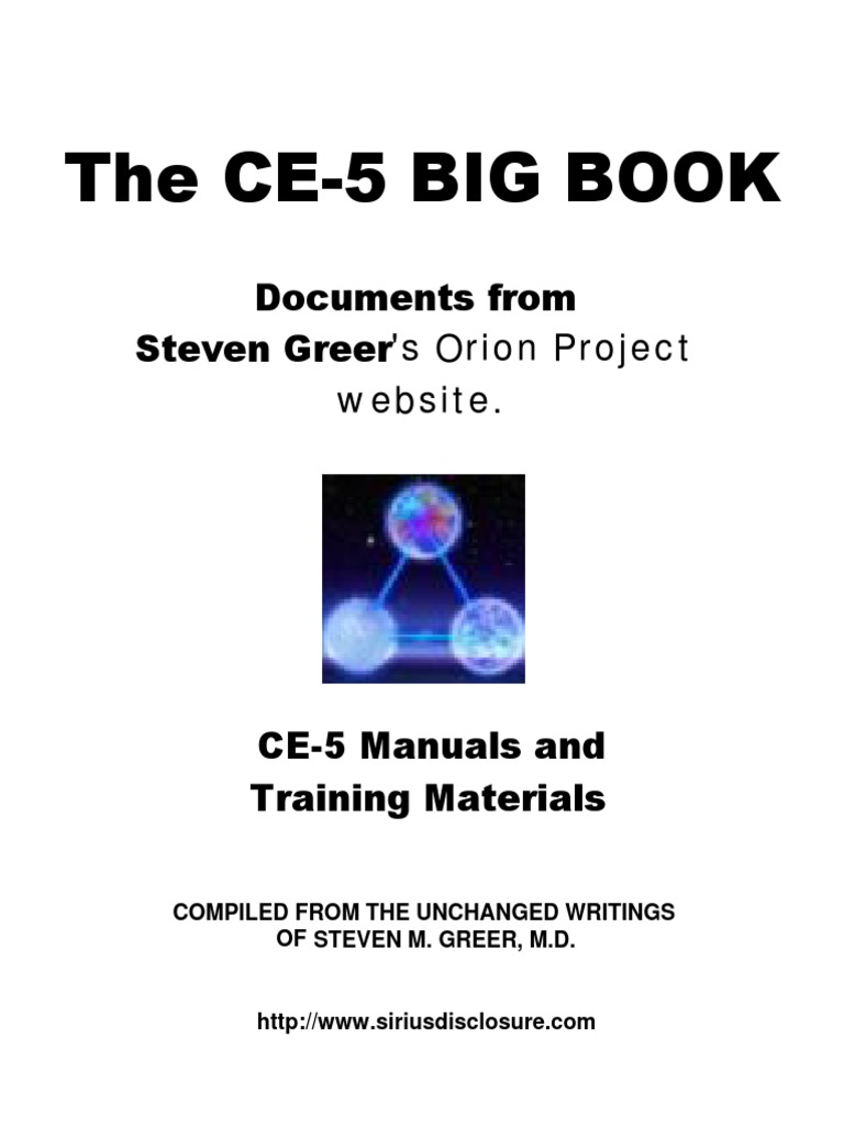 Steven Greer The Ce 5 Big Book Ce5 Cseti 472 Pages Russell39s Random Thoughts Passive Tone Control For Vacuum Tube Amps Unidentified Flying Object Consciousness