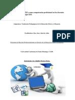 Elpidio Moreta El Desarrollo de Las TICs Como Competencias Profesional en Los Docentes en La Sociedad en El Siglo XXI