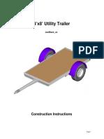 4x8 Utility Trailer-Instructions