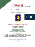 Cover Tugas Teknik Kegempaan - Rev 05 Sep 2015