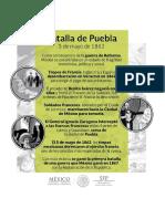 Infografia Batalla de Puebla