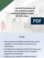 Prezentare Proiect Asistenta Medicala de Baza 20150720