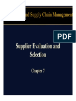 WCSM Supplier Evaluation & Selection Chapter 07