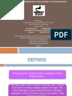 PENGARUH HIPERBARIK OKSIGEN PADA PASIEN OSTEOMIELITIS 2, PEMBIMBING DR. HISNINDARSYAH, DR. ANDIKA