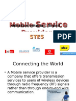 Mobile Service Provider selection criteria's and Brand perceptions