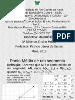 Geometria-Analitica_Aula02-Ponto-médio_Mediana_Baricentro.odp