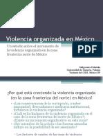 Un Estudio Sobre La Violencia Organizada, Universidad de Polonia