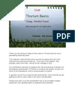 Thorium Basicsdraft