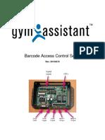 Access Control Barcode Setup