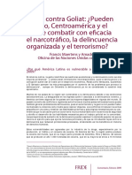 Narcotráfico, Centroamerica, Onu, Maertens