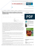 Adaptación Del Inventario de Problemas Conductuales y Destrezas Sociales en Niños Escolares de Una Zona Urbano Marginal de Lima. _ Psiquiatria