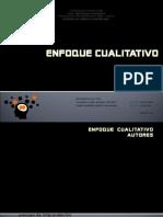 ENFOQUE CUALITATIVO (1)