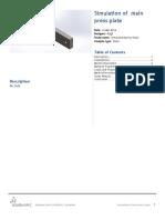 Main Press Plate-SimulationXpress Study-1