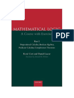 Mathematical Logic a Course With Exercises, Part 1 by Rene Cori and …(1)_ORIGINAL