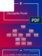Usucapião Rural
