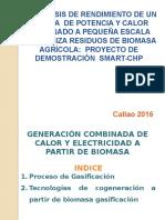 Generación Combinada de Calor y Electricidad a Partir de Biomasa