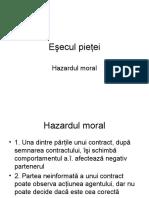 Hazard MoralSelectia Adversa