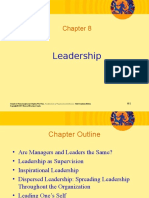 Chapter 8 Leadership