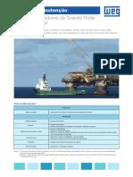 WEG Plano de Manutencao Motores e Geradores de Grande Porte Aplicacao Naval 50049454 Catalogo Portugues Br
