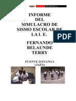 INFORME DEL SIMULACRO DE SISMO.docx