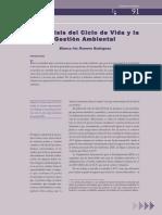 ACV y Gestion Ambiental