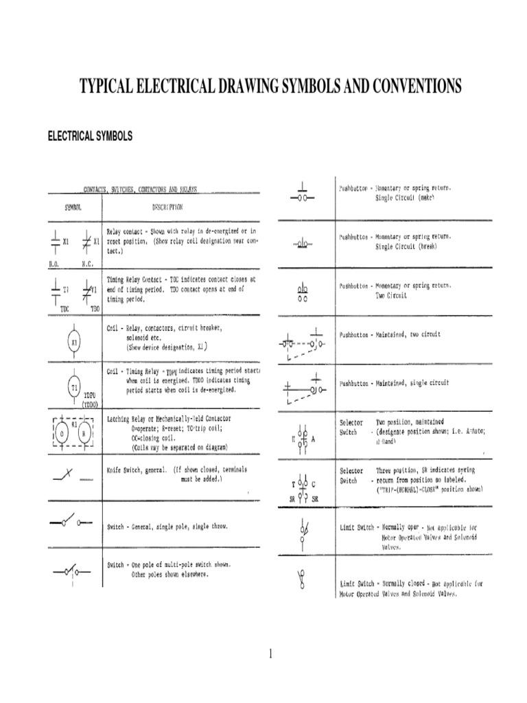 Ieee Symbols   Relay   Voltage
