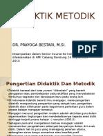 DIDAKTIK METODIK