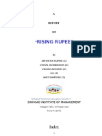 rising rupee