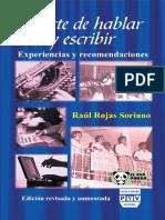 El Arte de Hablar y Escribir (2011) - RaUl Soriano
