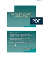 Pemeriksaan Penunjang Dalam Imunologi - Dr Tonang Dwi Ardyanto
