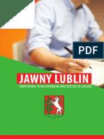 Jawny Lublin - monitoring funkcjonowania rad dzielnic w Lublinie