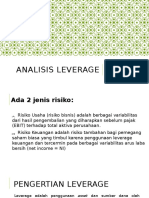 Analisis Leverage