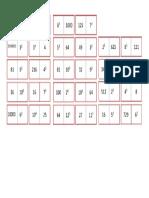 Domino Pequeño Para Imprimir