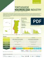 distribuição de algas em Portugal